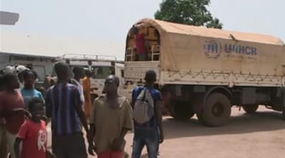 CAR citizens seek refuge in DRC