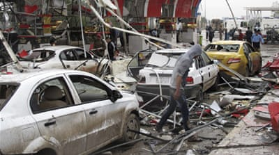 Deaths in suicide car bombing in Iraq
