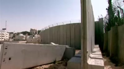 Israeli wall may enclose Palestinian hotel