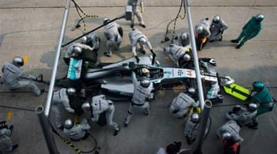 Formula One's industrial revolution