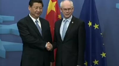 China and EU leaders focus on trade ties