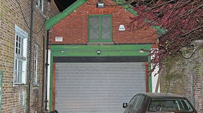 UK's priciest garage sold for almost $1m