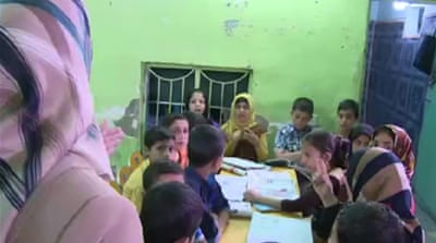 Iraqi orphans struggle for chance to learn