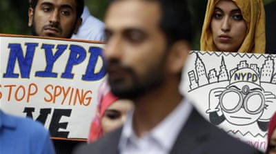 The unit began spying on Muslim communities shortly after the Sept 11 attacks [AP]