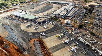 Brazil's airports not yet ready for World Cup