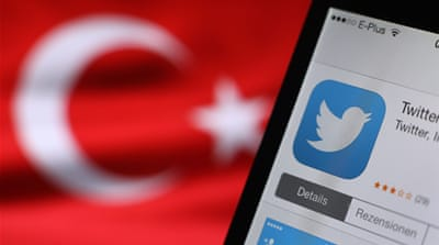 Turkey's courts blocked access to Twitter days before elections as Erdogan battled a corruption scandal [Reuters]