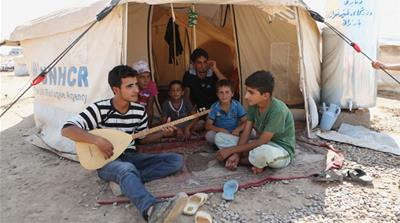 Syrian refugees cling to stability in Iraq