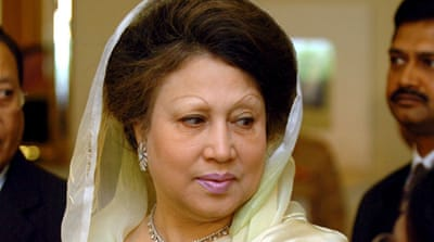 Zia was indicted just weeks after Hasina was re-elected in a January 5 general election [AFP]