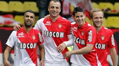 Monaco  trail leaders France Ligue one leaders PSG by seven points [AFP]