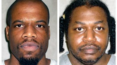 Lawyers for Lockett (L) and Warner (R) said that the inmates challenged the secrecy surrounding the drugs [AP]