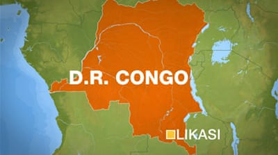 More than 100 people were killed in a train derailment in DR Congo in 2007 [AP]