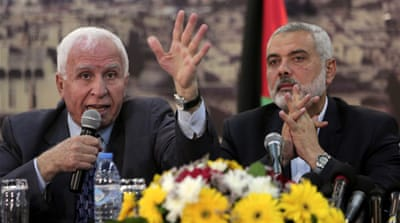 Palestinian factions to form unity government
