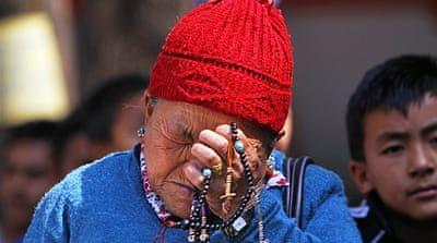 Families mourn Everest avalanche victims