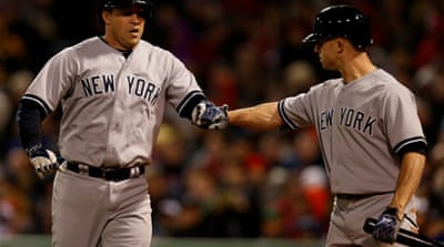The Yankees improve to 5-2 against the 2013 MLB champions Red Sox this season [Reuters]