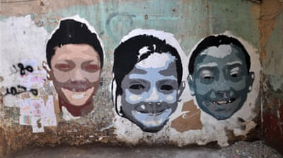 Egypt's graffiti artists make their mark