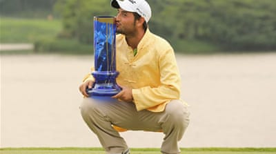 Levy carded a final-round four-under-par 68 to and become the first Frenchman to win the title [Getty Images]