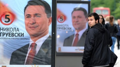 Macedonia remains one of Europe's poorest nations but Gruevski's government boasts solid economic growth [AFP]