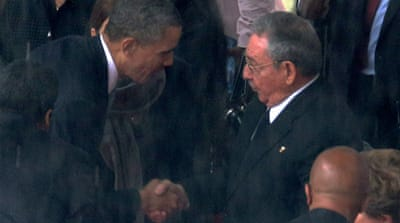 The US has had a trade embargo on Cuba since the 1960s [AP]