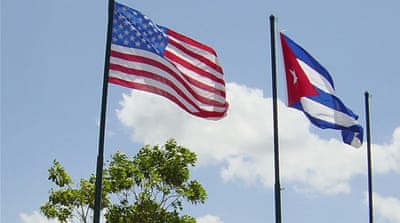 Cuba has been on Washington's list of countries that support terrorism since 1982 [GALLO/GETTY]