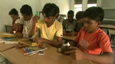 Special colleges support livelihood in India