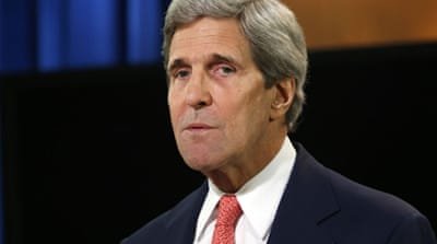 Kerry said he has never publicly or privately stated that Israel is an apartheid state [Reuters]