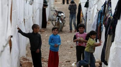 More than 52,000 Palestinian refugees from Syria were seeking shelter in Lebanon, according to UNRWA [EPA]