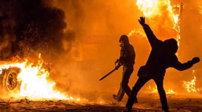 Yanukovich blamed for Ukraine protest deaths