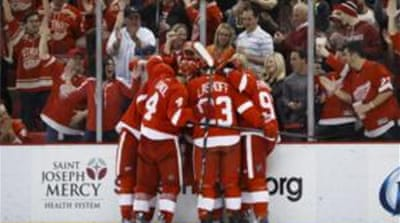 Detroit Red Wings handed Boston their first regulation loss in 17 games [Reuters]