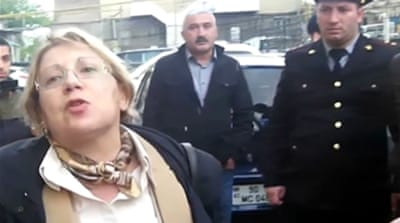 Azerbaijan detains renowned rights activist