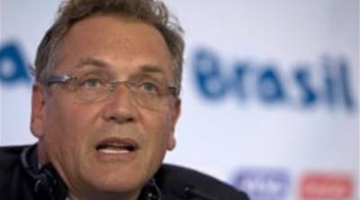 Jerome Valcke: 'FIFA is not the UN'