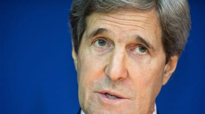 John Kerry has been trying to broker Israeli-Palestinian talks for more than a year [AP]