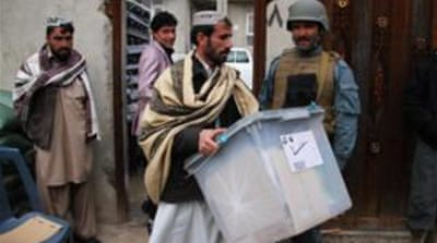 Afghans choose a new president