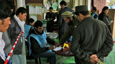 Afghans vote in presidential poll