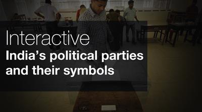 India's political parties and their symbols