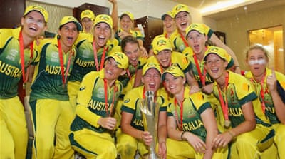 Australia's bowlers restricted England to 105 for eight in a repeat of the 2012 final in Sri Lanka [Getty Images]