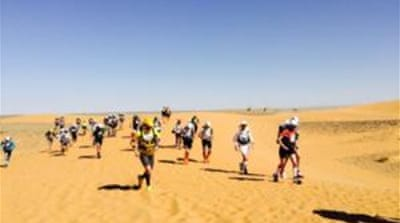 Over a 1,000 participants registered for this year's Marathon des Sables [Andy Richardson/AlJazeera]