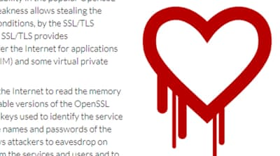 Heartbleed affected up to half a million web servers