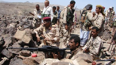 Yemen's army has struggled to regain control from al-Qaeda fighters in rural areas of the country [Reuters]