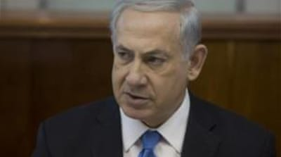Netanyahu has urged  the international community to shun the Fatah-Hamas government [Reuters]