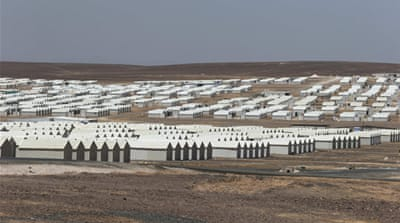 Jordan opens new camp for Syrian refugees