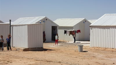 Jordan opens new refugee camp for Syrians