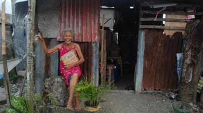 Haiyan survivors still seeking safe shelter