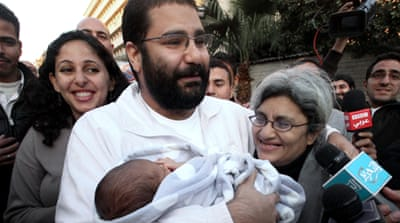 Egyptian activist's trial suspended