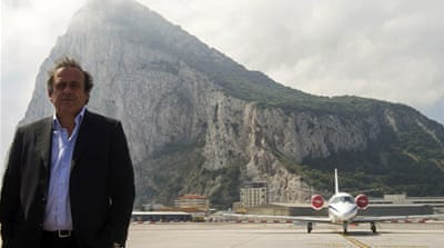 Platini guest of honour in Gibraltar
