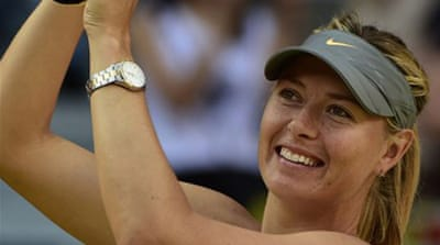 Eighth seed Sharapova, 27, has only lost three times on clay since 2011 [Getty Images]