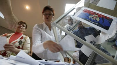 Rebels claim massive turnout in Ukraine vote