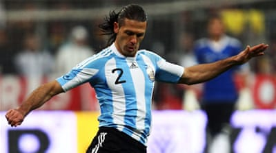 Demichelis had not been called up since being dropped after a 1-1 draw at home to Bolivia in 2011 [Getty Images]