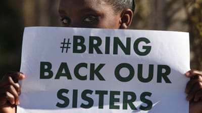 More than 300 Nigerian schoolgirls were abducted by Boko Haram gunmen [AP]