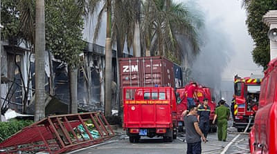 Anti-China riots turn deadly in Vietnam
