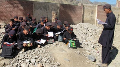 In Pictures: The bombed schools of Pakistan